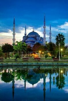 The Blue Mosque Istanbul - Turkey