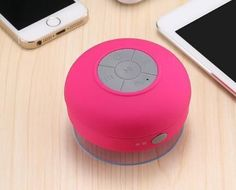 Hot Round Mini Bluetooth Speaker Waterproof With Er Portable Wireless Sound System Stereo Music Surround Bathroom