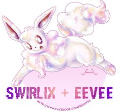 Eevee X Swirlix by Seoxys6 on DeviantArt