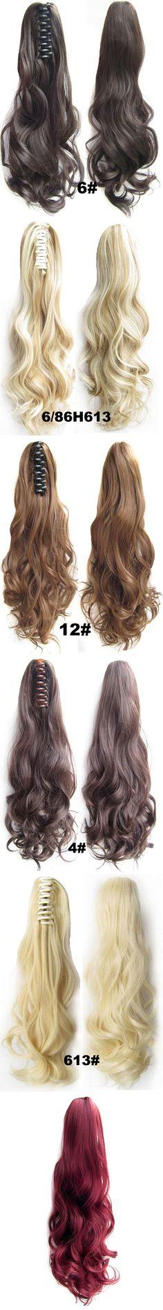 18 Clip In High Heat Kanekalon Streaks Phoenix Synthetic Hair