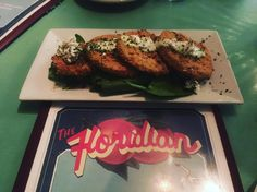 The best Fried Green Tomatoes in St A! #thefloridian #friedgreentomatoes #sogoood  #foodporn #yum #staugustinebuzz #staugsocial #totalconsultant by totalconsultant