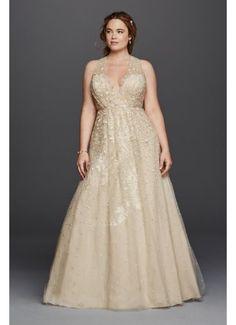 441a46d55bcab Melissa Sweet Floral Wedding Dress with V-Neckline 8MS251151 Formal  Dresses, Wedding Dresses,
