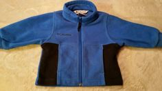 BOYS COLUMBIA FLEECE JACKET BLUE/ BLACK 2T #Columbia #Jacket #Everyday