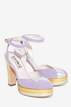 6525db55e83 Nasty Gal x Terry de Havilland Direction Platform Heel - Shoes