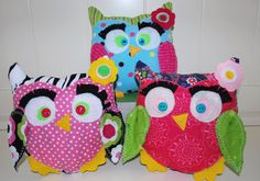 pdf Little Stitch Owl plushie toy diy pattern by LittleStitchers, $7.00