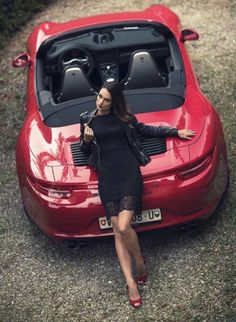 Red over Black. 991 cabriolet