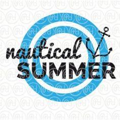 """Plotterdatei """"Nautical Summer"""""""