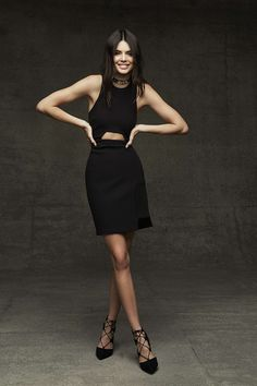 Black Cut Out Dress By Kendall + Kylie
