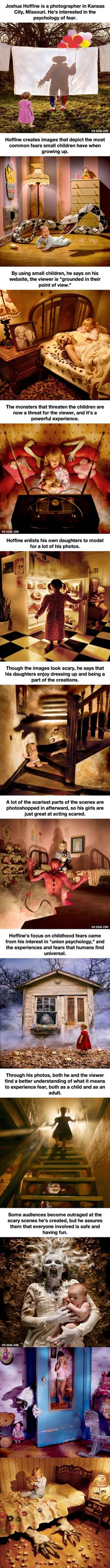 12 Seriously Disturbing Pictures Of Children's Nightmares, very well done