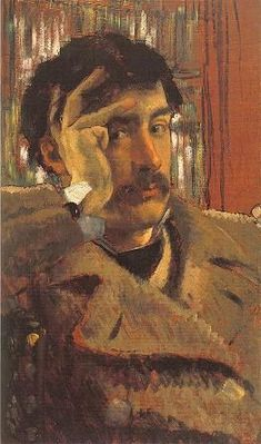 Tissot, James (1836-1902) - 1865 Self Portrait | by RasMarley