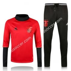 2016-17 Benfica Red Thailand Soccer Tracksuit