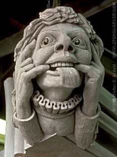 stone carving on  Washington Cathedral