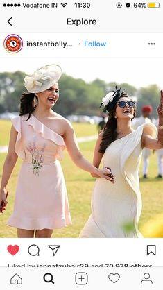 Alia Bhat's Wedding Wardrobe - Alia Bhatt is busy enjoying her best friend Kripa Mehta's in Jodhpur. Check out Alia Bhatt's wedding dresses like a yellow anarkali, glittering lehenga, floral embroidery and frill dress, etc. Alia Bhatt Cute, Bridesmaid Outfit, Indian Bridesmaids, Bridesmaid Inspiration, Brunch Outfit, Wedding Shirts, Bridal Photoshoot, Brunch Wedding, Glamour
