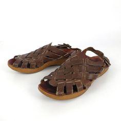 Famolare Platform Sandals Vintage 1970s by purevintageclothing