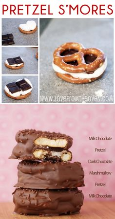 Pretzel S'mores, sweet & salty oh freaking yum. There goes my weight loss plan!