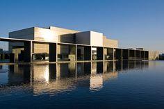 Japanese Museum, Water Architecture, Box Design, Pavilion, Art Museum, City, Gallery, Pentax K, House