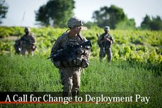"There is no doubt that deployment pay has some issues. Why should one service member in no ""real"" danger be paid the same rate as those who serve in high risk areas? A call for change should be heard."