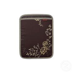 Awesome vintage floral print iPad sleeve!