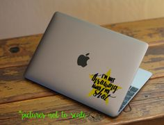 "FREE SHIPPING! - 4"" I'm Not Throwing Away My Shot quote decal - Multiple designs available! by OutlandPikeDesigns on Etsy"
