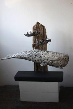 moby dick by Joe lawrence art work, via Flickr