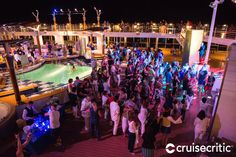 Deck Party on the Celebrity Summit