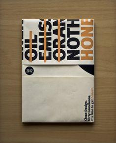 Honest. – Conference by Scott Wilson, via Behance