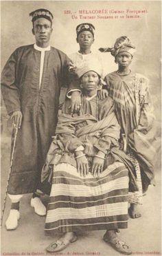 Famille de traitants (Guinée)