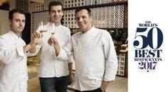 Disfrutar, nuevo restaurante español en la lista World 50 Best