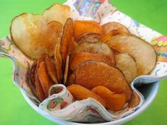Snack Food Recipe for Kids: How to Make Potato Chips with Children - Weelicious