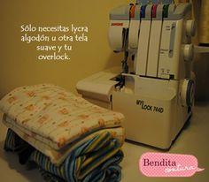 En Bendita Costura: tutorial para mantitas de bebé