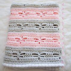 Dragonfly Baby Blanket FREE Crochet Pattern - Cool Creativities