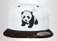 Panda Snapbacks Snapback Panda Hats Hat Panda Caps Cap by Teezty, $19.99