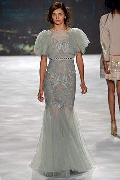 Badgley Mischka Spring 2013 Ready-to-Wear Fashion Show - Ella Kandyba