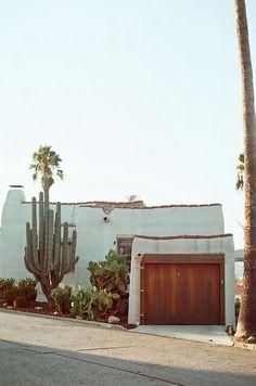 California adobe / stucco home