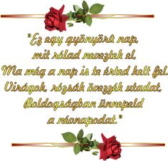 Latest Good Morning, Name Day, Smiley, Hair Accessories, Names, Quotes, Flowers, Quotations, Saint Name Day