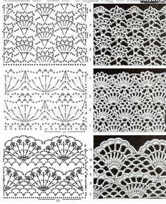 crochelinhasagulhas: Saia branca de crochê
