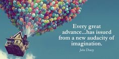 #SMM Every great advance...has issued from a new audacity of imagination. - John…