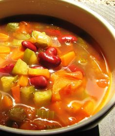 Minestrone Soup Recipe | Healthy Meals | By June Gray