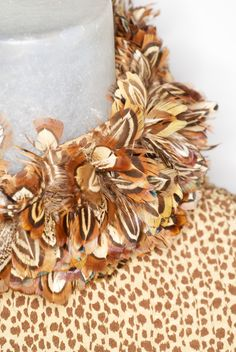 1970s Valentino 'Pajama' Ensemble with Feathered Ruff | From a collection of rare vintage suits, outfits and ensembles at https://www.1stdibs.com/fashion/clothing/suits-outfits-ensembles/