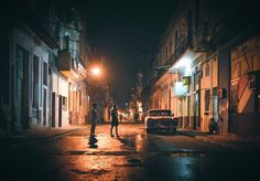 La Habana Cuba - late night in Centro Habana; I previously posted a tighter closer cropped version of this image way back in the day ... before IG upped its editing game ... Here's a random Friday night thought btw ... How is it that IG doesn't have a favorites option???  Just thinking out loud but it seems like that would make things SOOOO MUCH easier so that people could go straight to the galleries they like the most  ... there seriously has to be a reason why IG doesn't offer that…