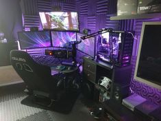 40 Best Video Game Room Ideas for Gamers Guide - - Ideas of - 49 Awesome Gaming PC Setup Best Gaming PC Setup Rate this setup! 40 Best Video Game Room Ideas for Gamers Guide - - Ideas of - 49 Awesome Gaming PC Setup Best Gaming PC Setup Rate this setup! Gaming Desk Setup, Computer Gaming Room, Best Gaming Setup, Gamer Setup, Computer Setup, Pc Setup, Gaming Rooms, Computer Technology, Technology Apple