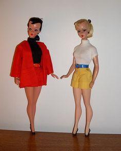 :Vintage 1950s Bild Lilli dolls