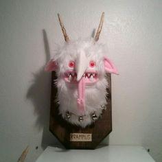 Mounted Krampus head $120