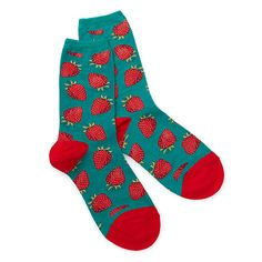 Look what I found at UncommonGoods: women's strawberry socks... for $7.5 #uncommongoods