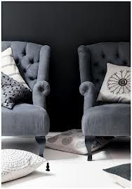 gorgeous matching grey chairs with linen cushions