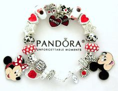 >>>Pandora Jewelry OFF! >>>Visit>> Authentic PANDORA Bracelet Disney Mickey Minnie European Charms Silver New Fashion trends Fashion designers Casual Outfits Street Styles Disney Pandora Bracelet, Disney Jewelry, Pandora Bracelets, Pandora Jewelry, Sterling Silver Bracelets, Bangle Bracelets, Silver Jewelry, Pandora Pandora, Bracelets For Boyfriend