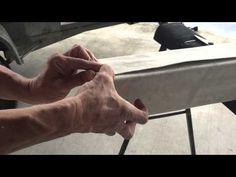 How to make a padded gymnastics balance beam - YouTube