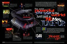 Atari Jaguar CD Drive (1994)