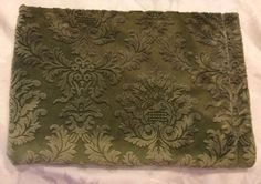 RARE 30x40 Cocalo Couture Luxe Green Plush Baby Infant Stroller Security Blanket #CocaloCouture