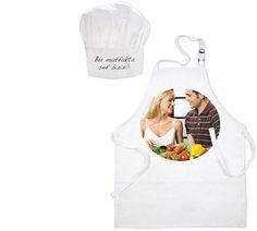 Show details for Mutfak (Aşçı) Önlüğü ve Aşçı Şapka Seti